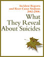 Incident Reports and Root Cause Analyses 2002-2008: What They Reveal About Suicides